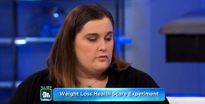 Woman Begins Her Weight Loss Journey