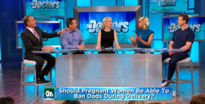 Fathers Banned From Delivery Rooms?