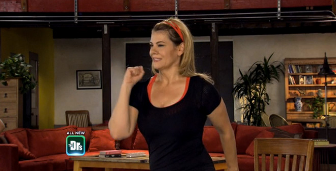 Lisa Whelchel With Fitness Tips