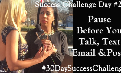 Challenge Day 22 - Pause Before You Talk, Text, Post, or Email