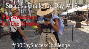 Challenge Day 15 - Pay Attention to the Details